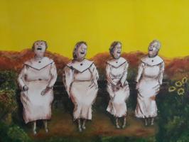 Acryl schilderijen tot 50x70