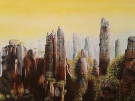 Acrylschilderijen groter dan 50x70